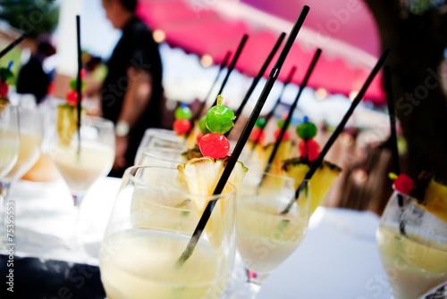 Fotobehang Cocktail cóctel al aire libre