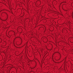 Seamless dark red pattern