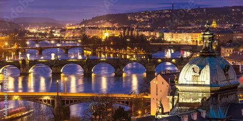 Fototapeta Bridges Prague