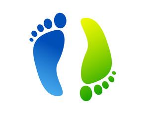 impronte piedi, arte, colori, creatività,fantasia