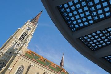 Catholic Cathedral In Novi Sad, Serbia