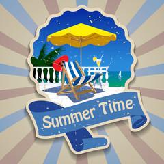 Summer time label