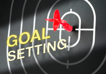 """"""" GOAL SETTING"""",Business concept"""