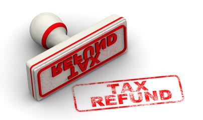 Возврат налога. Печать и оттиск (Tax refund. Seal and imprint)
