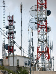 modern transmitters for radio and television