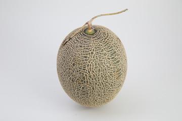 Honeydew Melon on a white background