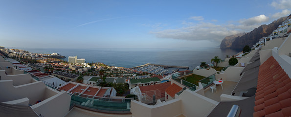 Gigantes coastline in early morning, Tenerife, Canary Islands, S