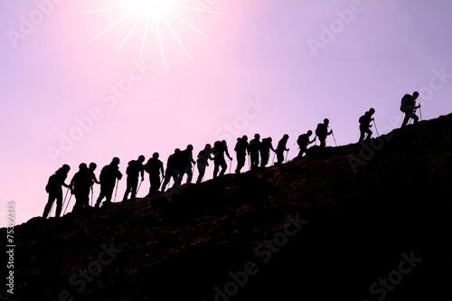 mountaineering activity - 75399375