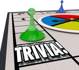 Trivia Board Game Fun Knowledge Challenge Playing Quiz Test
