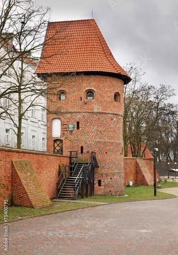Collegium hosianum in Braniewo. Poland - 75400795