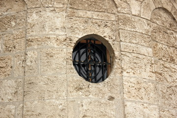 Church Tower Window