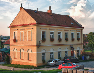 House in Jewish district of city Boskovice