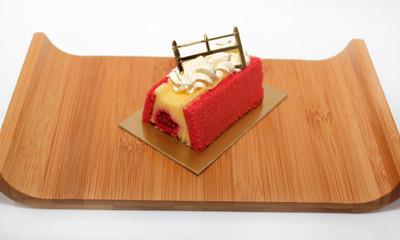 Portion de gâteau