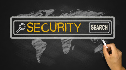 security in search bar