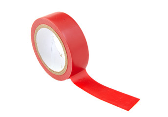 Red insulating tape