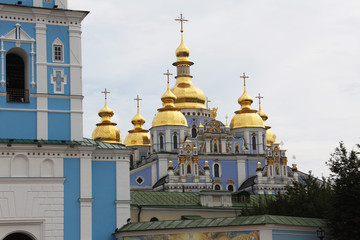 Saint Michaels Golden Domed Monastery in Kiev