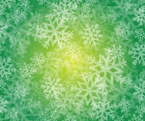 snowflake winter holiday illustration