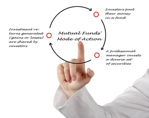 Mutual Funds' mode of action