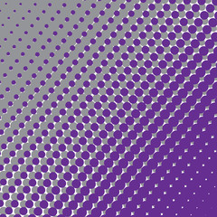 Halftone pattern of circles.