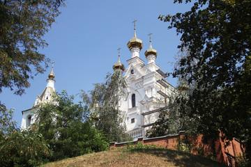 Svyato Pokrovskiy muzhskoy monastyr in Kharkov city