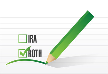 roth check list selection illustration