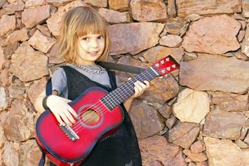 Gitarrist Rockmusik