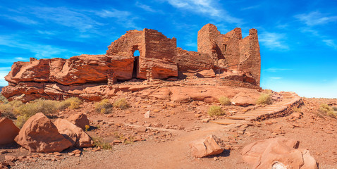 Wukoki or Big House in Wupatki National Monument
