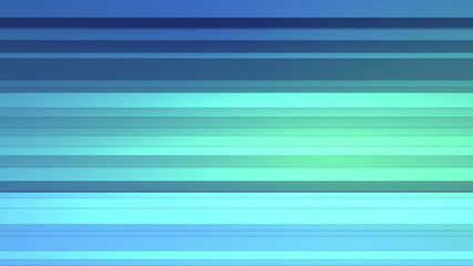 3D Looping Background - Folding blue strips