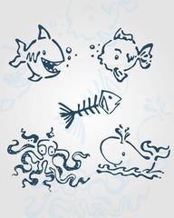 Sea creatures a