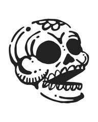 Skulls pattern d