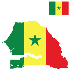 Republic of Senegal flag