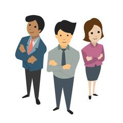 businesspeople team