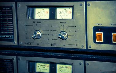 Retro Sound controller ,vintage filtered.