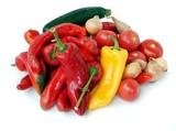 various multicolor vegetables
