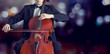 Cellist playing classical music on cello - 75411598