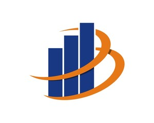 Chart Bar Logo v.10