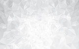 Fototapety Vector abstract gray, triangles background.