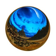 Fantastic colorful ball