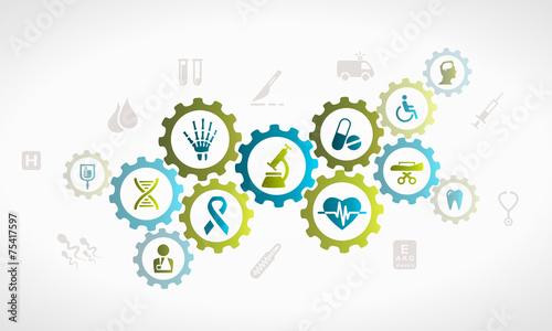 Fototapeta Healthcare system