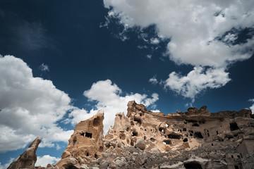 Ancient stone houses of Cappadocia