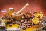 Fototapeta spices still life