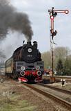 Steamtrain in Poland