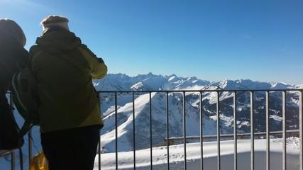 Alpen Ausblick