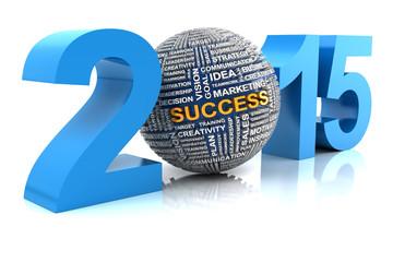 2015 business success, 3d render