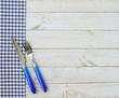 Guten Appetit - Messer und Gabel blau - 75419984