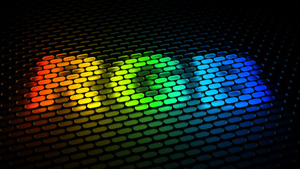 RGB color model sign
