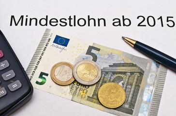 Mindestlohn 8,50,- €