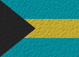 Bahamas flag stone