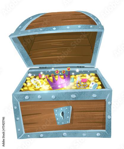 cofre del tesoro - 75421746