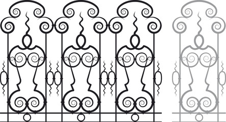 Vector Fretwork